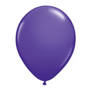 "Purple Violet 5 inch Balloons - Qualatex 5"" Balloons 100pcs 